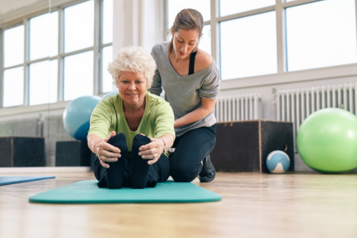 Low-Impact Exercises for Older Adults with Impaired Mobility